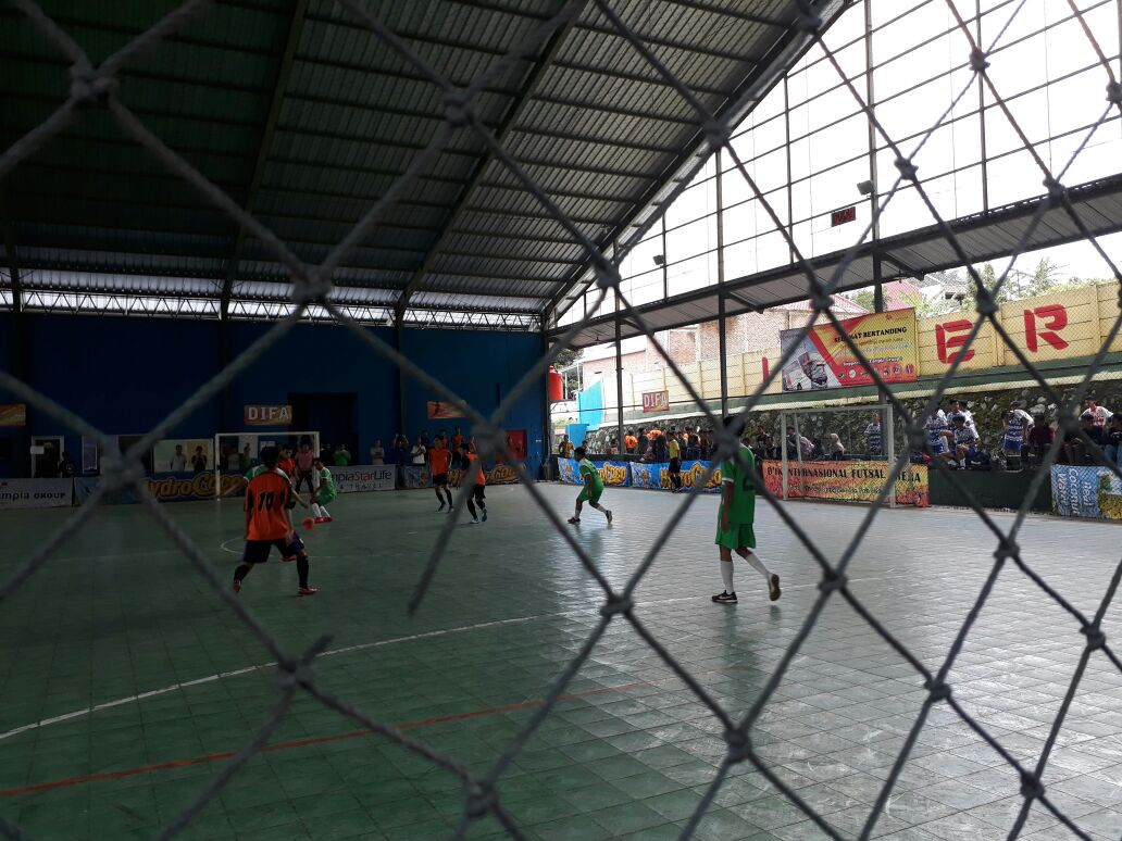 LAMPUNG POST | 98 Tim Futsal Ikuti Difa Cup I