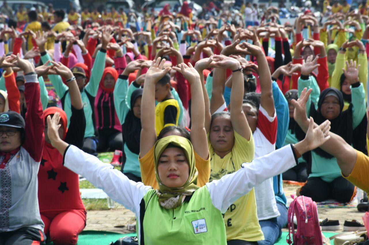 LAMPUNG POST | Festival Yoga Awali Kalender Event Wisata di Lampung Timur