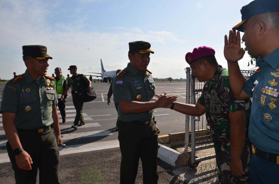 LAMPUNG POST | Pangdam II Sriwijaya Kunjungi Markas Brigif 3 dan Buka Musda Perbakin