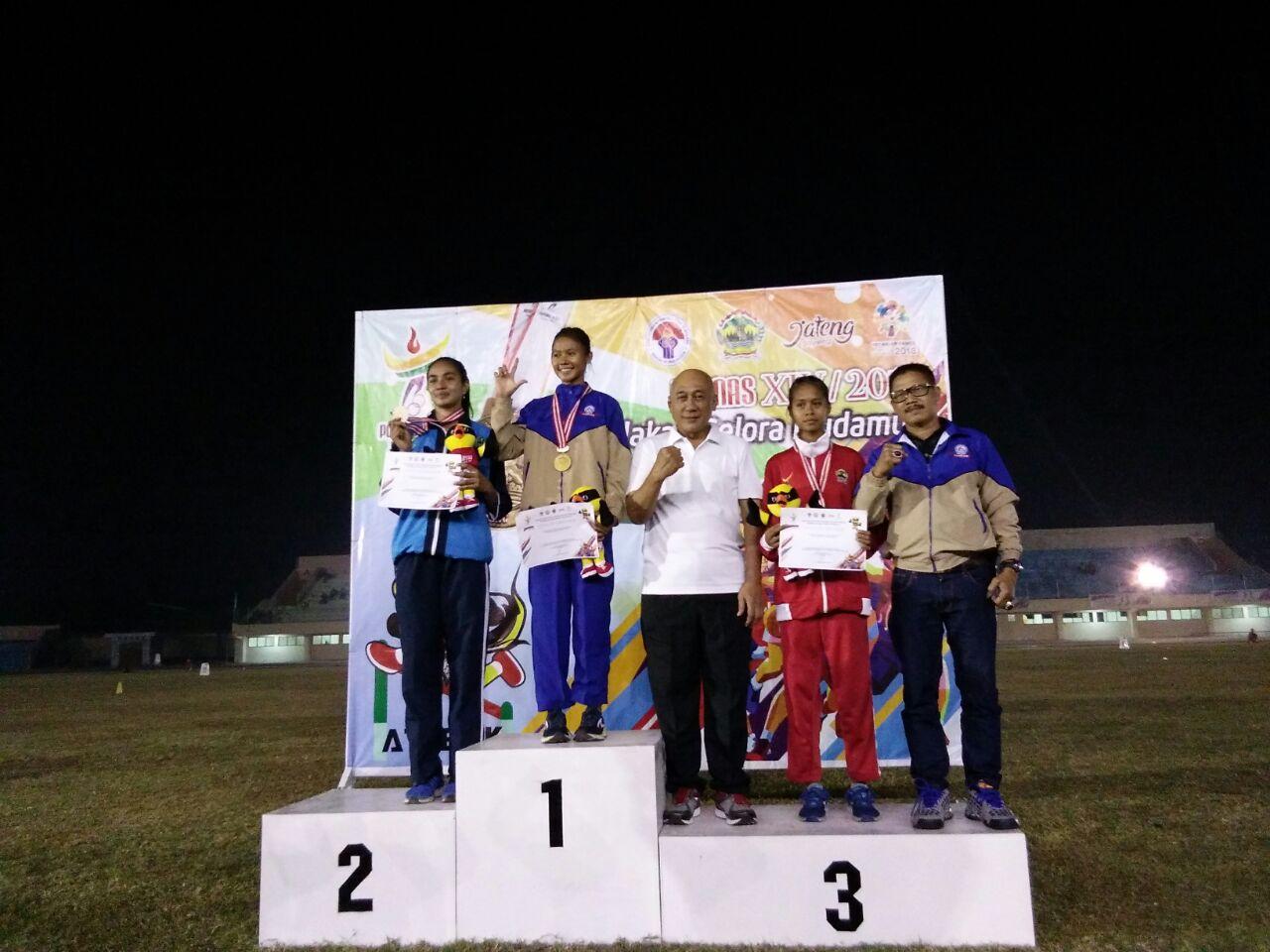 LAMPUNG POST   Lampung Tambah Dua Emas
