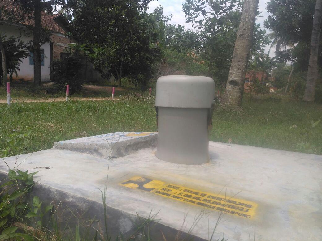 LAMPUNG POST | Warga Pertanyaan Manfaat Sumur Eksplorasi di Tiyuh Candrakencana