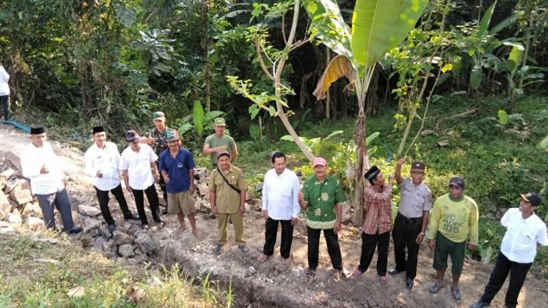 Dana Desa Margajasa Dialokasikan Bangun Talud