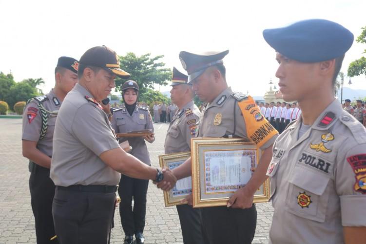 Dapat Penghargaan dari Kapolda, Kapolres Mesuji Apresiasi Anggotanya