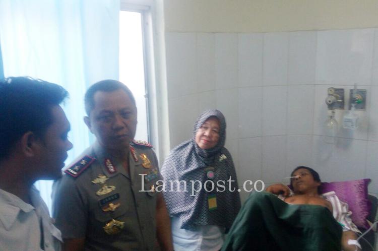 LAMPUNG POST   Pasca-Keributan, Polda Lampung Terjunkan Satu Kompi Brimob ke Mesuji