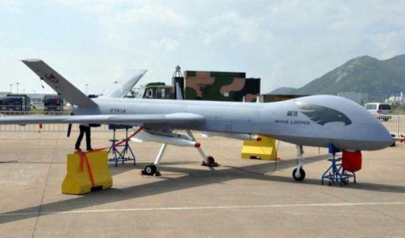 LAMPUNG POST | Drone Dibalas Jet