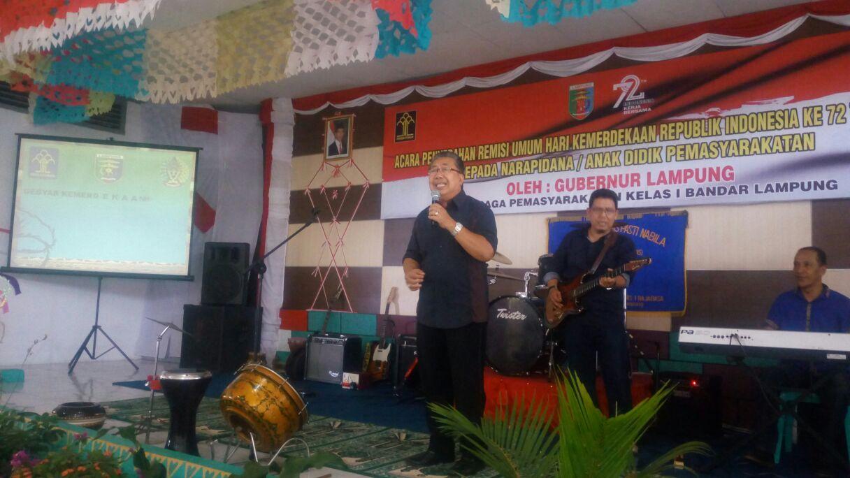 LAMPUNG POST | Jadi Penghuni Lapas, Andi Achmad Banyak Belajar Ibadah