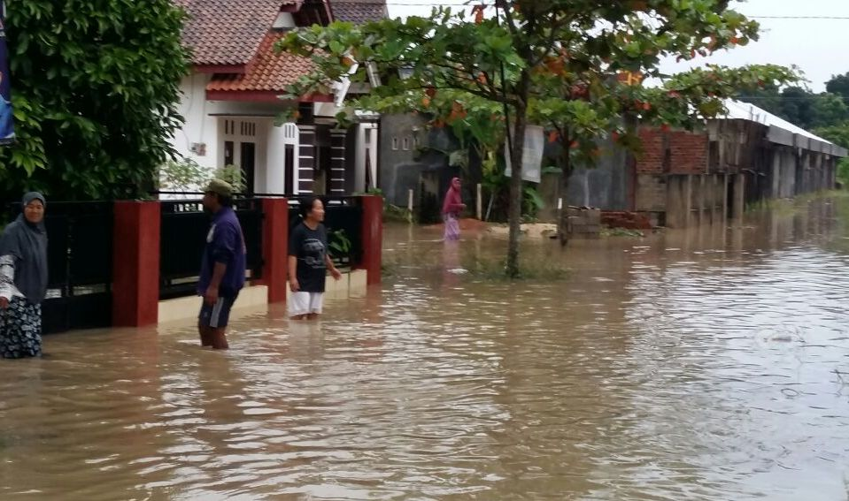 Wilayah Metro Terendam Banjir