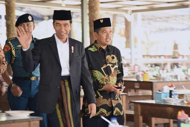 LAMPUNG POST | Dedi Mulyadi Sebut Jokowi Presiden Kaum Jelata