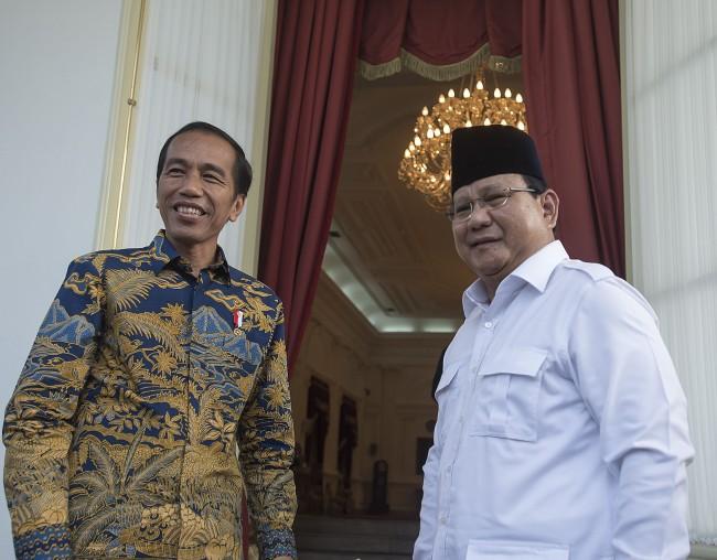 Survei: Jokowi Paling Populer, Prabowo Lawan Terberat di Pemilu 2019