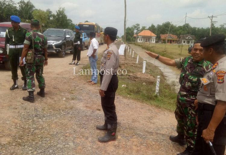 Personel TNI-Polri Siap Amankan Kunjungan Presiden di Mesuji