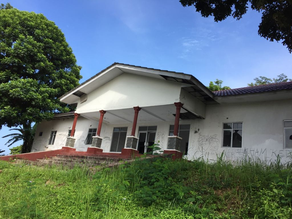 Mess Kementerian Agama Lampung Selatan Terbengkalai