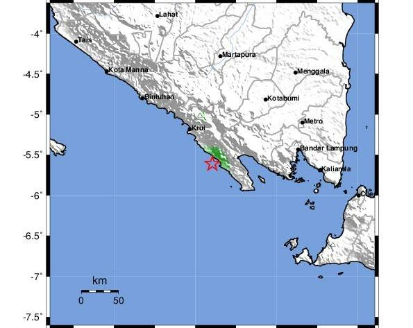 Lampung Dimungkinkan Kena Dampak Tsunami Pandeglang