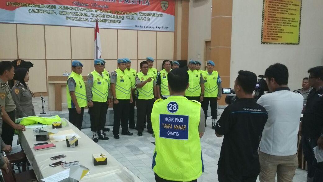 Rekrutmen Polisi 2018 Tak Ada KKN