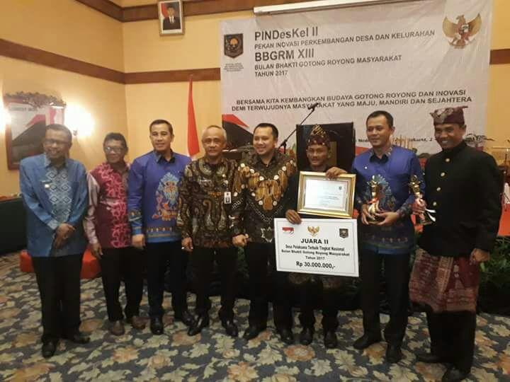 LAMPUNG POST | Program Desa Siaga Titiwangi Raih Juara Nasional