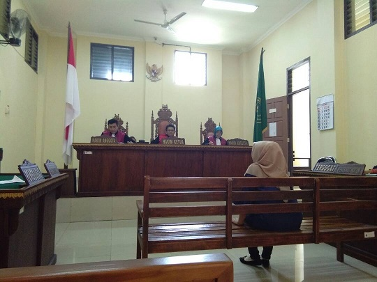 LAMPUNG POST   Mantan Kepala SMPN 24 Divonis 7 Tahun Penjara