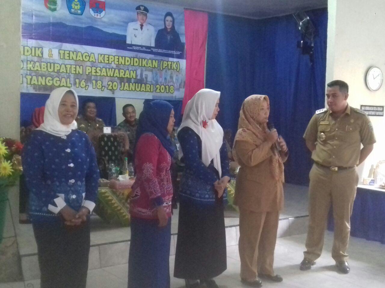 Insentif Guru TK dan PAUD di Pesawaran Bakal Dinaikkan