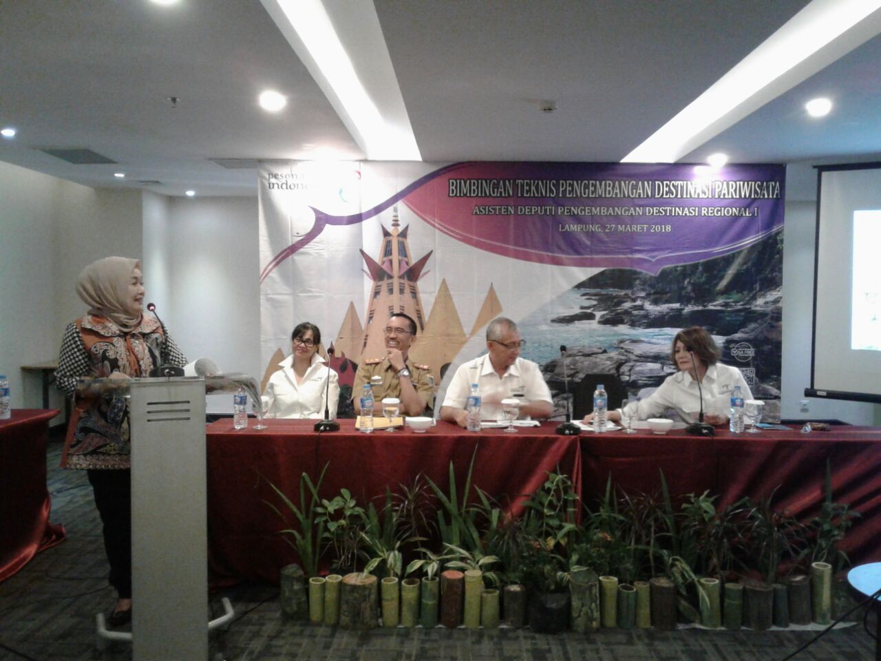 LAMPUNG POST | DPR RI Tawarkan Solusi Permasalahan Pariwisata Lampung