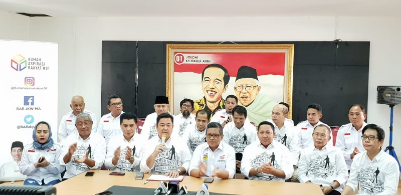 Deklarasi 9 dari 10 Kepala Daerah Maluku Utara Dukung Paslon 01