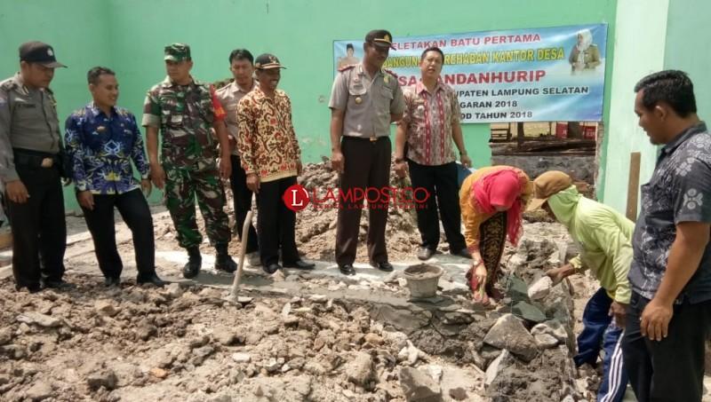Desa Bandanhurip Rehab Kantor Desa dari Dana Desa 2018