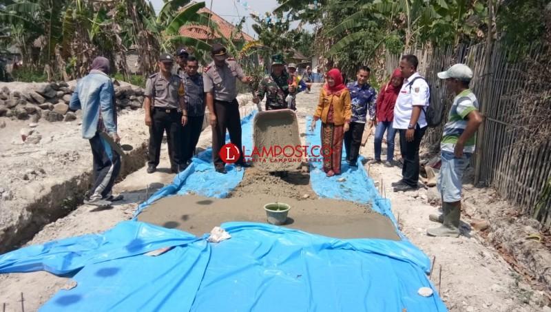 Desa Kalirejo Realisasikan 3 Pembangunan Infrastruktur