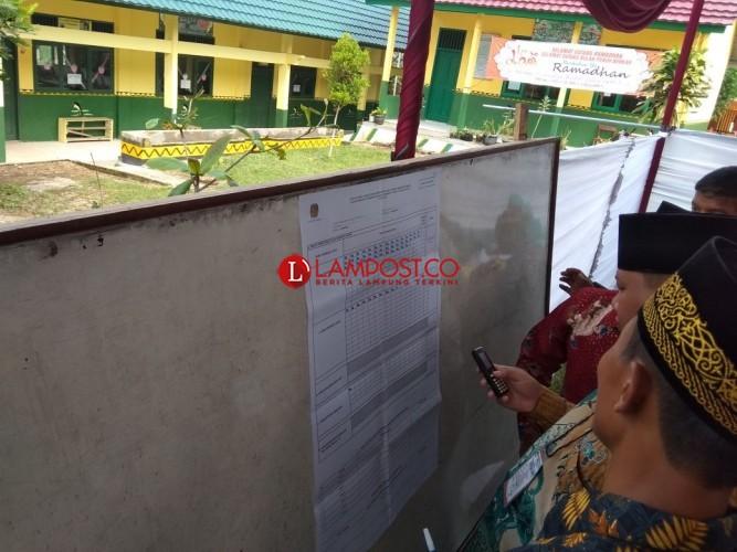 Dewi Handajani Menang Telak Di TPS 1 Purwodadi