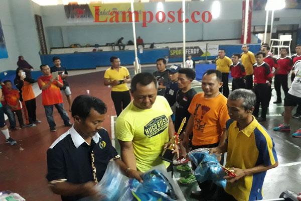 LAMPUNG POST | Farhan Sabet Gelar Siwo PWI Cup I