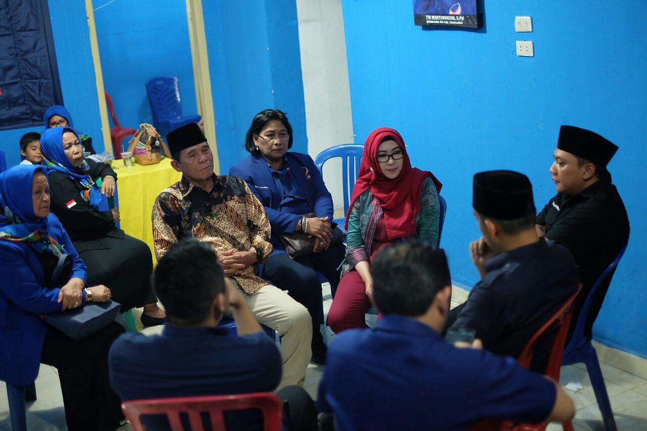LAMPUNG POST | NasDem SiapMenangkan Dewi-Safii di Tanggamus