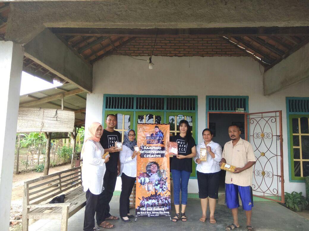 Relawan Kece Terus Sisir UMKM di Lampung Tengah