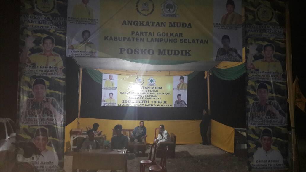 LAMPUNG POST | AMPG Lampung Selatan Dirikan Posko Mudik