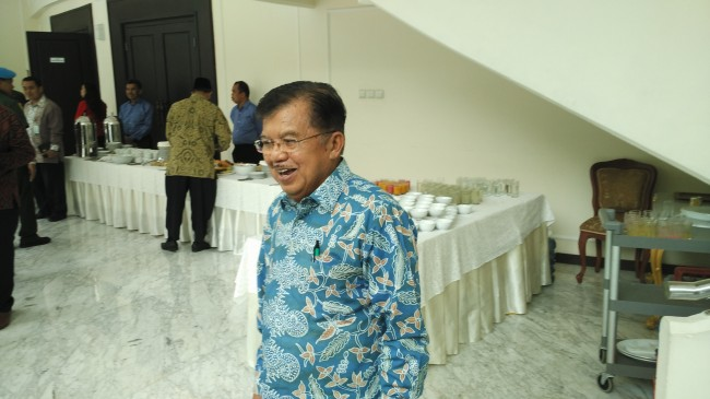 LAMPUNG POST | Wapres JK Sebut Indonesia Biasa Gaduh Mendekati Pemilu
