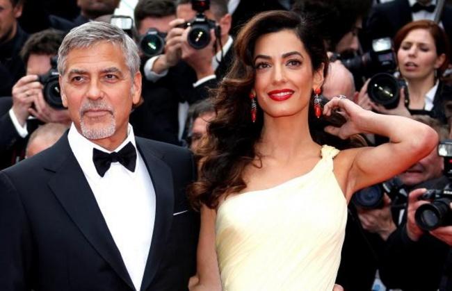 LAMPUNG POST | George Clooney Dikaruniai Bayi Kembar