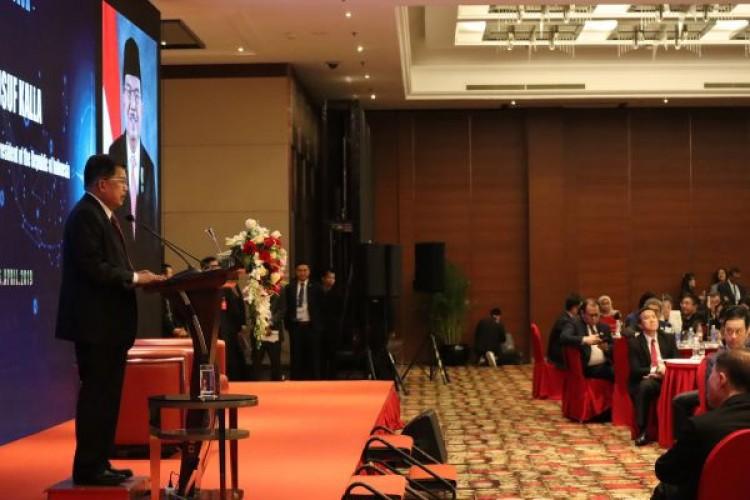 Di Konferensi BRF,  Wapres JK Sampaikan Isu Diskriminasi Sawit
