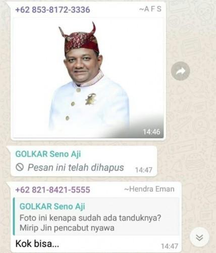 Diduga Hina Pakaian Adat Lampung, Seno Aji Akan Dipidanakan