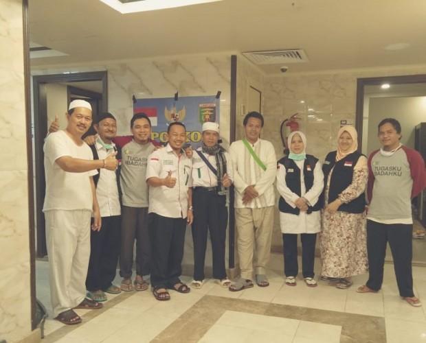 Diduga Kelelahan, Satu Jemaah Kloter 11 JKG Lampung Tengah Alami Sakit