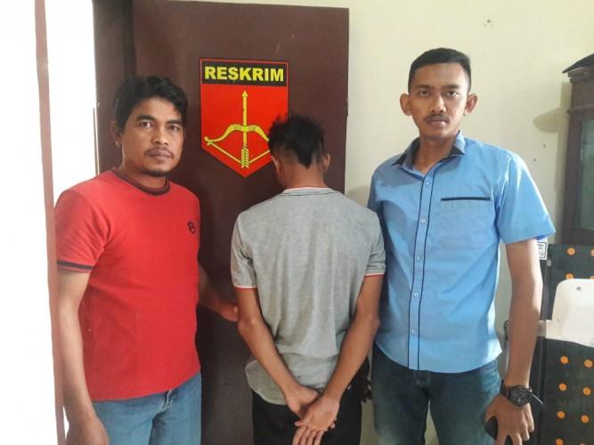Diduga Lakukan Penganiyaan, Seorang Pemuda Ditangkap Polsek Kasui