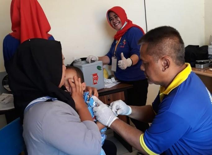 Dinkes Lambar Dekati Orang Tua yang Menolak Vaksin MR