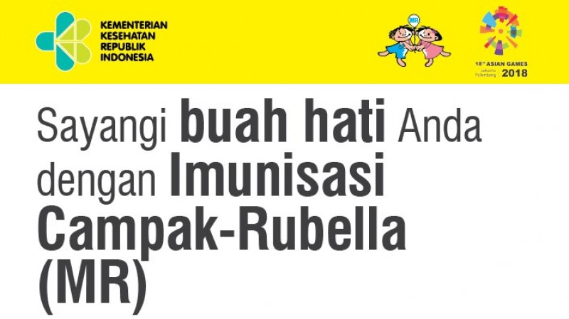 Dinkes Lampura Sosialisasi Imunisasi Measles Rubella (MR)