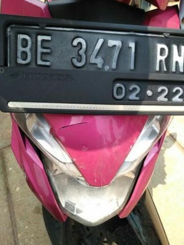 Diparkir di Indekos, Motor Mahasiswi UM Lampung Ini Digondol Maling