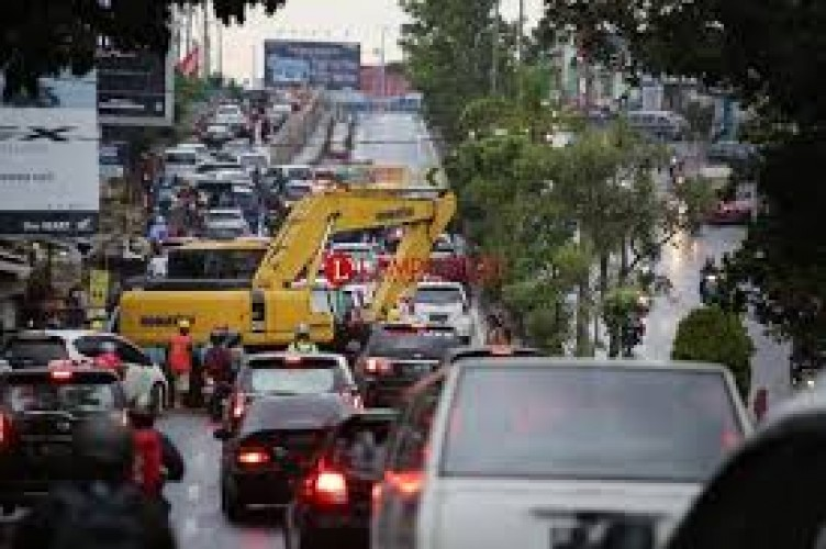 Dishub Bandar Lampung Jelaskan  Rekayasa Lalu Lintas Underpass Unila