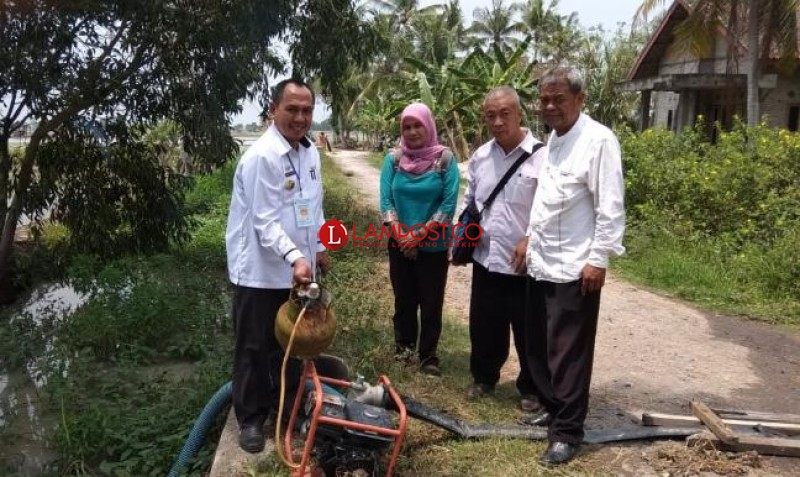 Disperindang Lamsel Monitoring Kelangkaan Tabung Gas di Palas