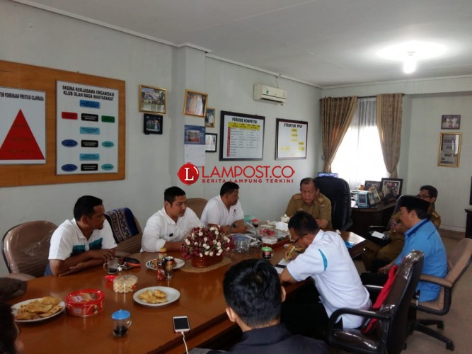 Dispora Lampung - Iyos Pusat Gelar Rapat Pemantapan