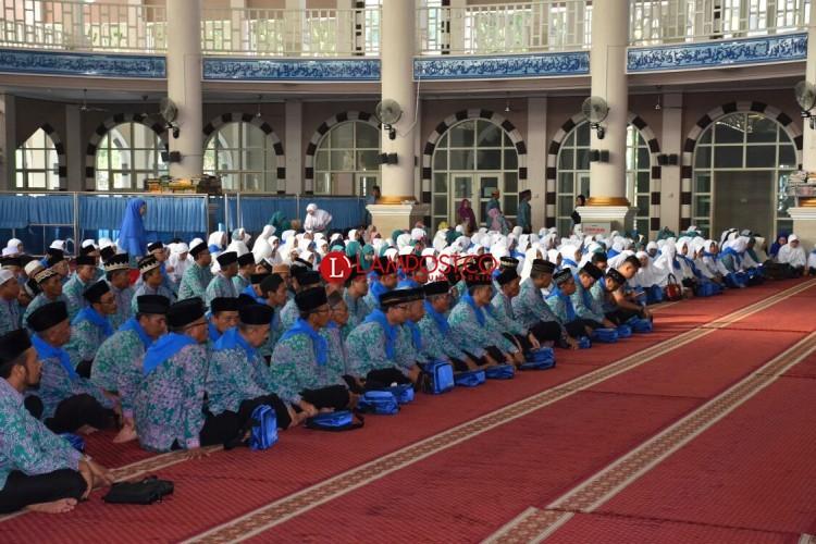 Djohan Lepas 486 Jamaah Calon Haji Metro