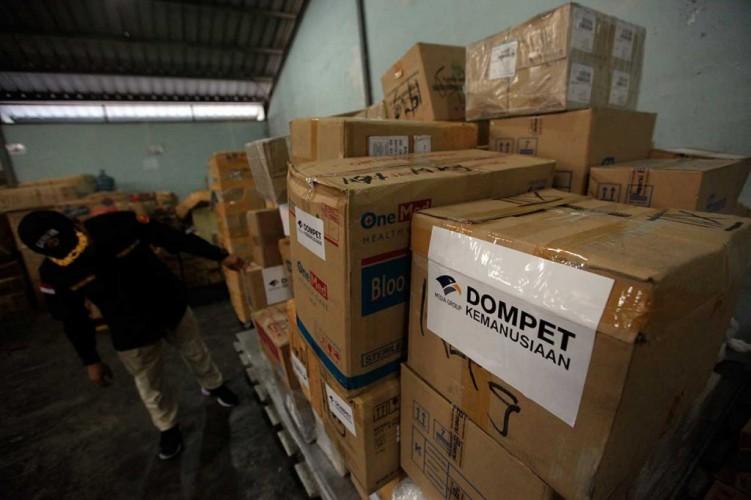 Donasi Lewat Yayasan Media Grup Untuk Gempa Palu Capai Rp50,4 Miliar