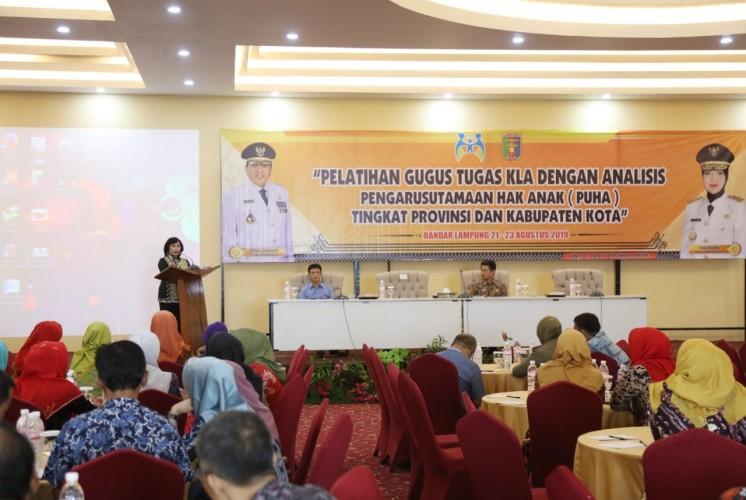 Dorong Terwujudnya Lampung Provinsi Layak Anak