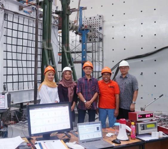 Dosen UBL Teliti Metode Baru Penahan Gempa untuk Struktur Baja
