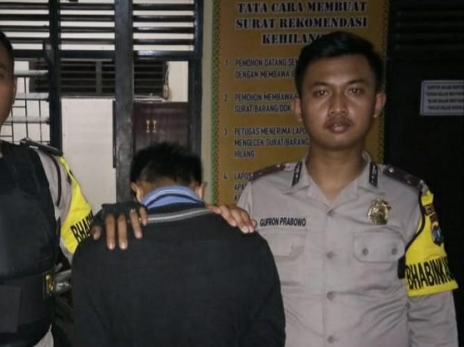 DPO Curas Dibekuk Petugas Polsek Talangpadang