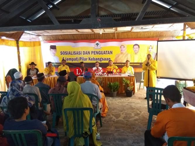 DPP Golkar Gelar Pendidikan Politik di Pringsewu