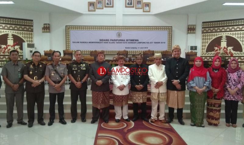 DPRD dan Pemkot Gelar Paripurna Istimewa HUT Ke-337 Bandar Lampung