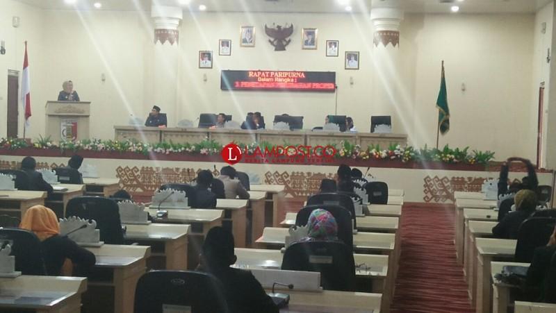 DPRD Gelar Paripurna Penyampaian Rekomendasi atas LKPJ Bupati Tuba