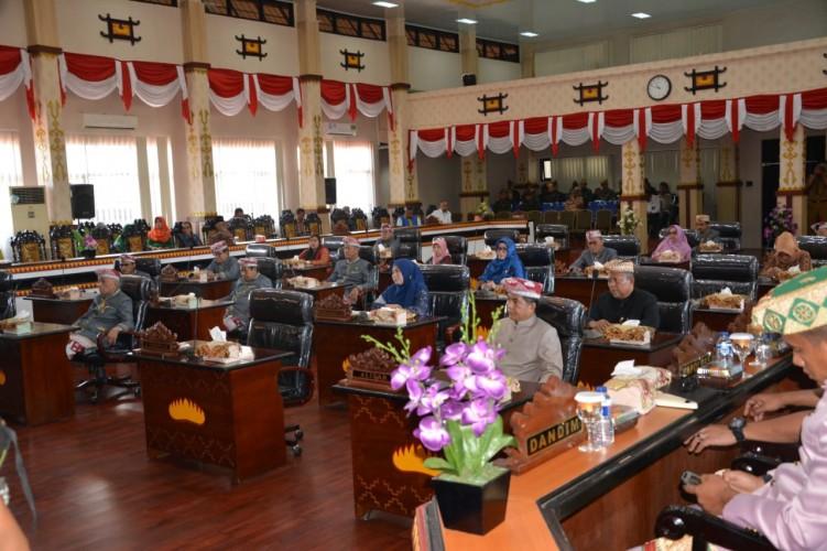 DPRD Kota Metro Gelar Paripurna HUT Ke-55 Provinsi Lampung